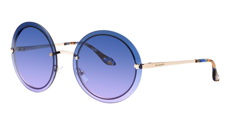 Lunettes-rondes-bleues