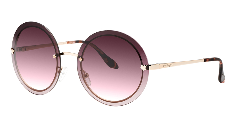 Lunettes-rondes-roses