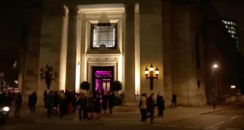 UK-lingerie-awards-Freemasons-Hall-Covent-Garden
