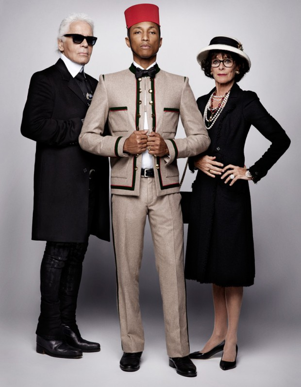 Reincarnation-chanel-Lagerfeld-Pharrell-Williams