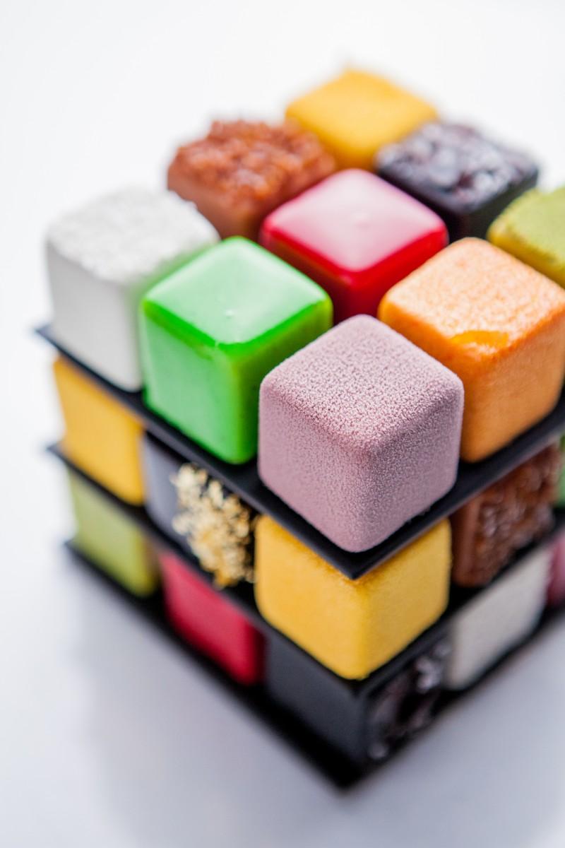 CedricGrolet Rubik'sCake 108 © Pierre Monetta