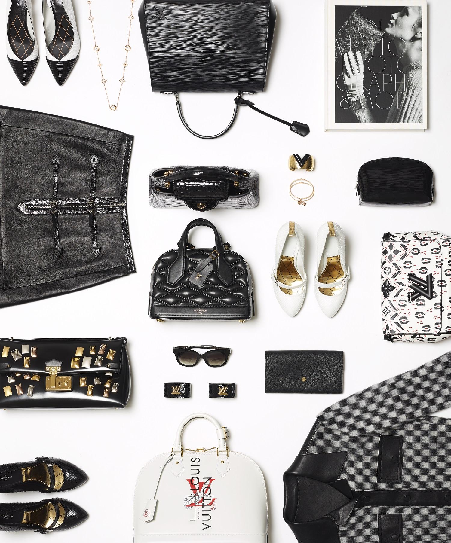 Louis Vuitton-BLACK- WHITE -ALRIGHT