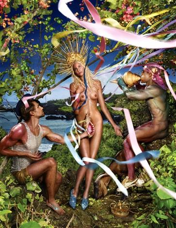 guerlain-quel-est-votre-genre-ideal-david-lachapelle-Rebirth-of-Venus 2
