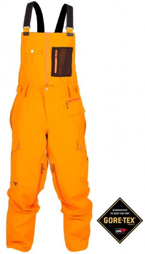 Black Crows_pantalon orange fluo