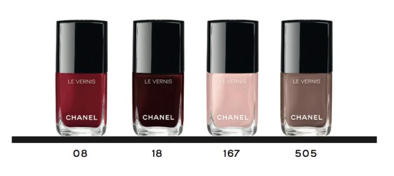 Chanel vernis teintes reformulées