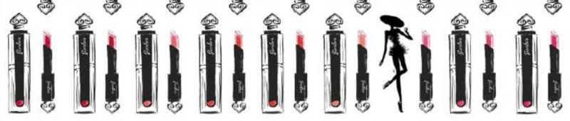 Guerlain la petite robe noire dessin rouge à lèvres