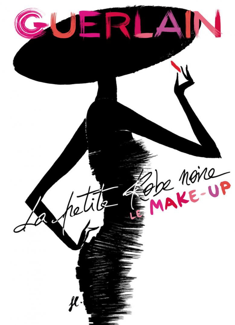 Guerlain la petite robe noire visuel pub