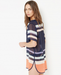 Ted Baker SPORTET Tribal Stripe cover up