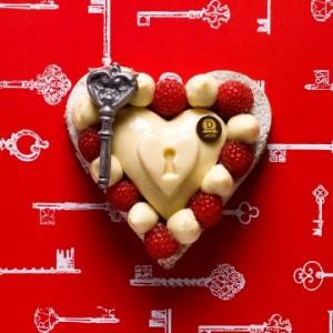dalloyau saint valentin cadenas d'amour