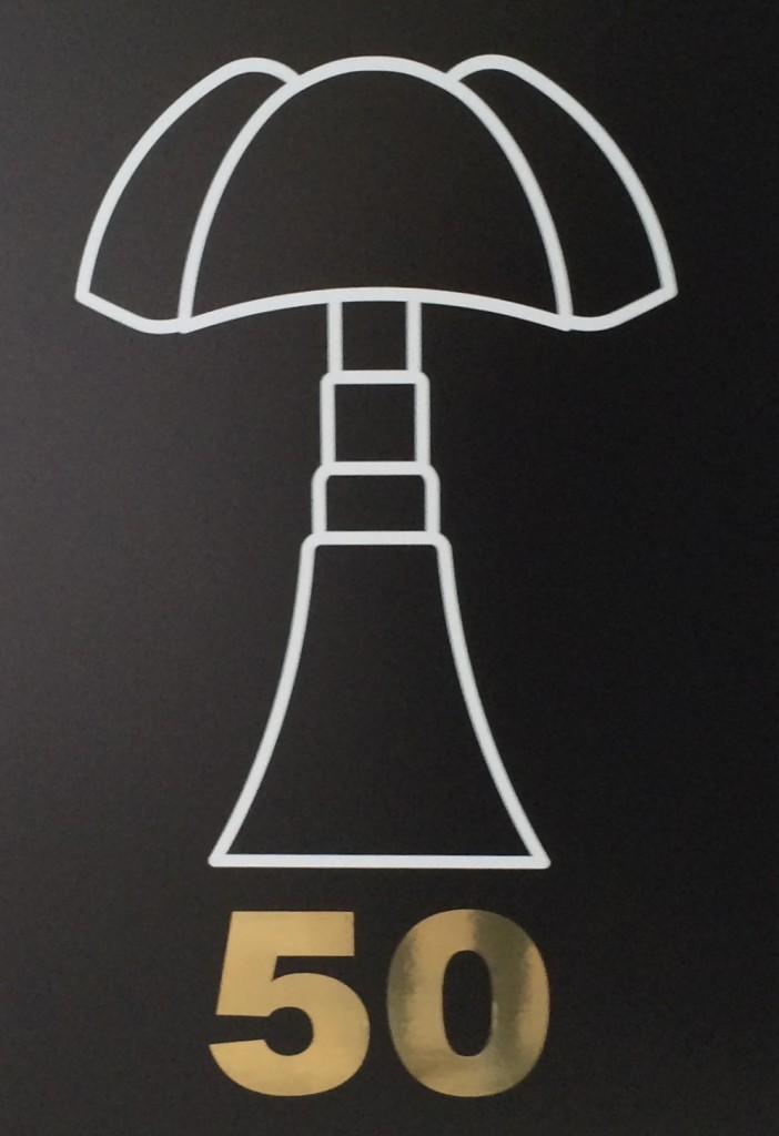 lampe pipistrello 50 ans