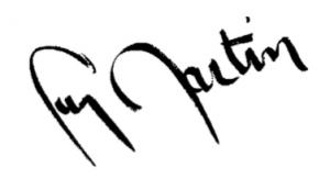signature Guy Martin