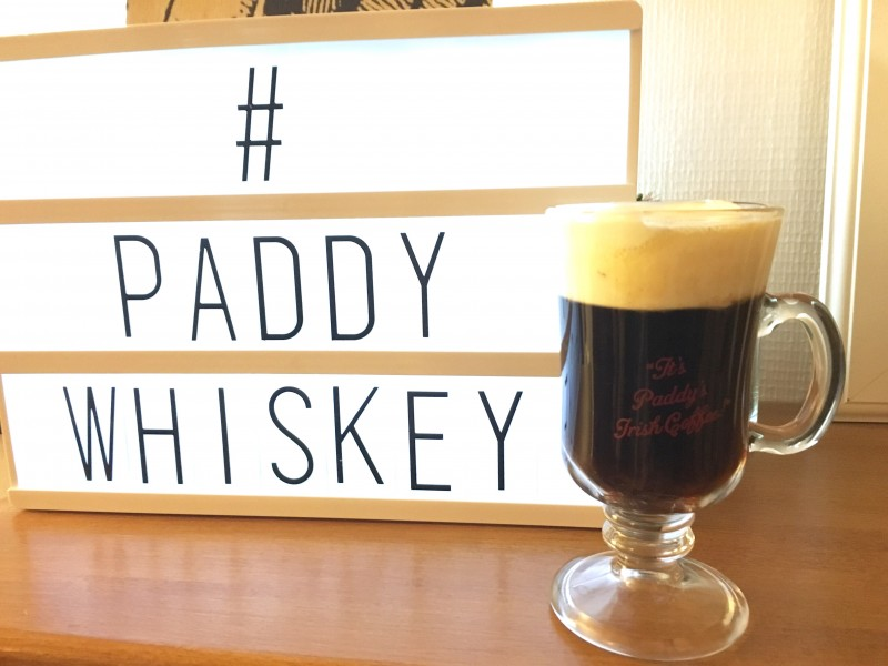 Paddy irish coffee