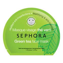 SEPHORA masque visage thé vert