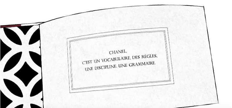 Inside Chanel vocabulaire