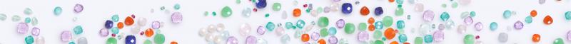 coeur de gemme bandeau pierres précieuses