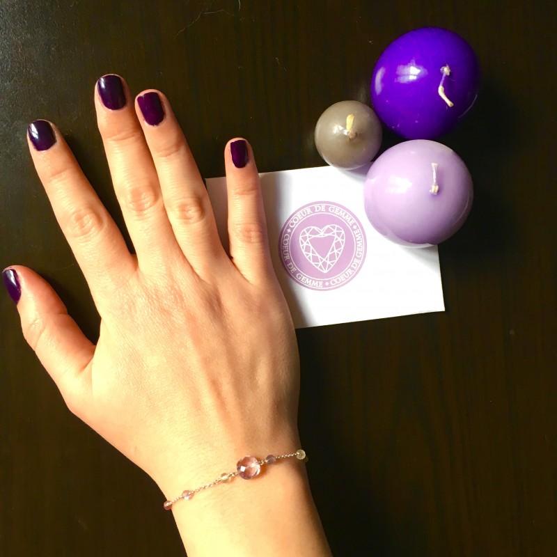 coeur de gemme mon bracelet