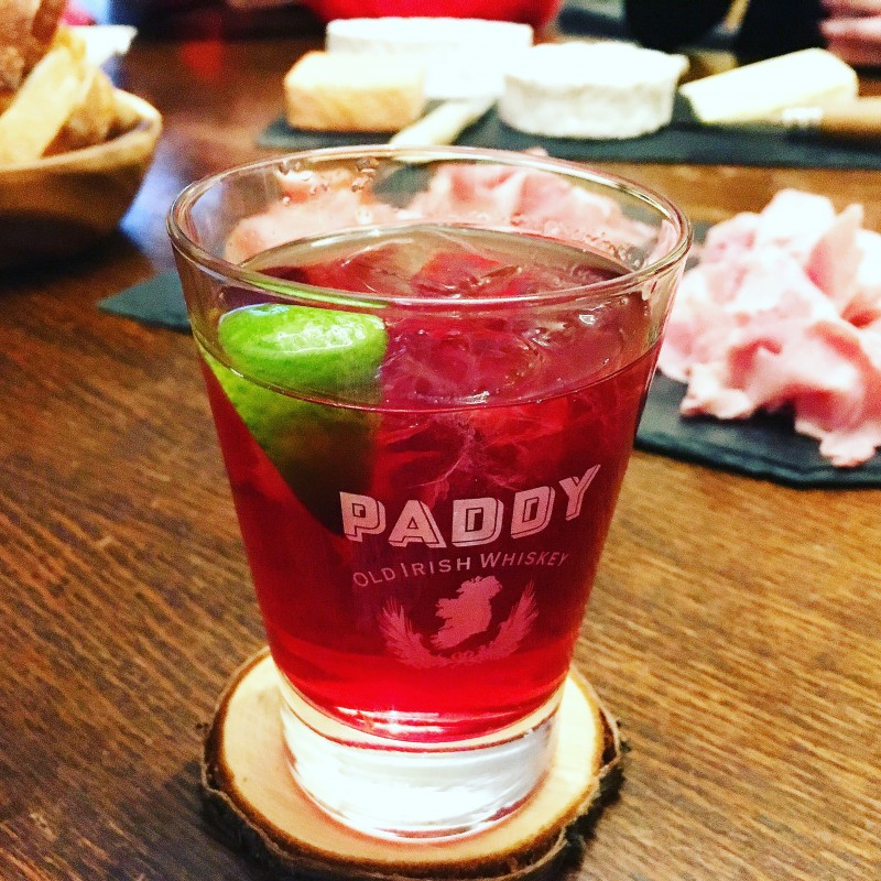 pink paddy cocktail
