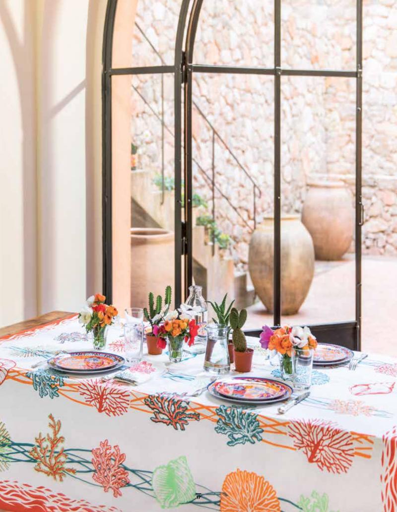 Inspiration Mexique Fragonard arts de la table