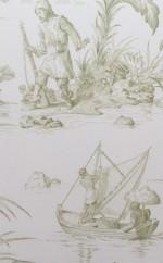 Normandy_Barrière_toile de jouy_robinson crusoé vert