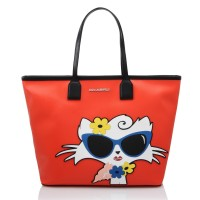 karl-lagerfeld-cabas-plage-choupette-rouge