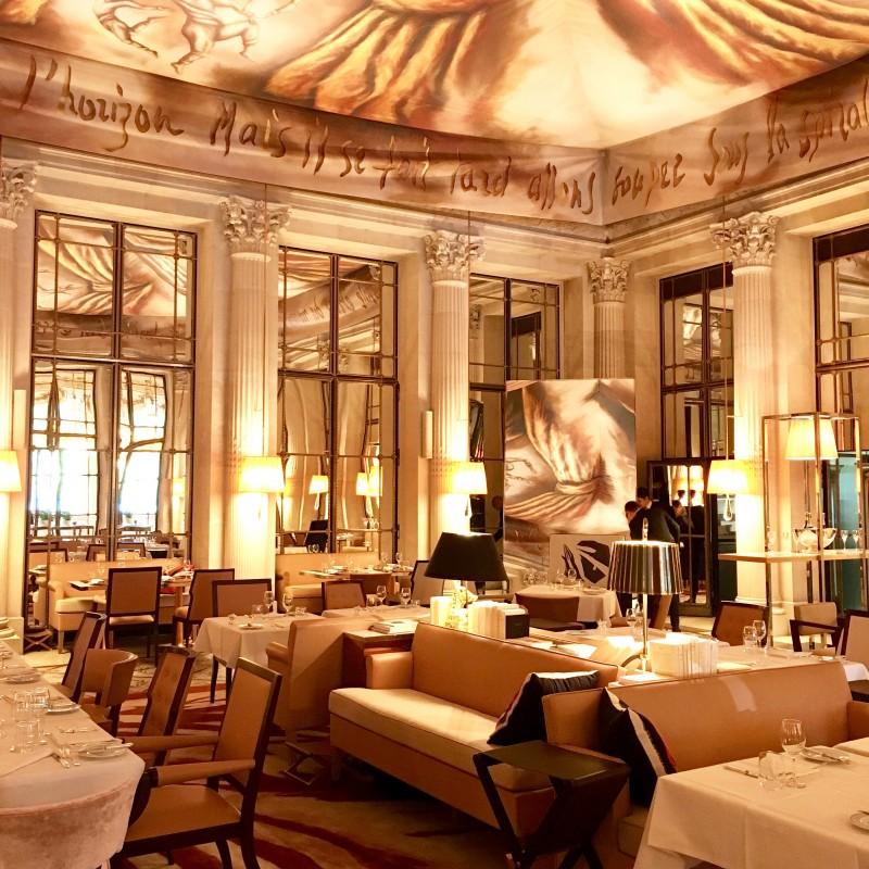 Un grand vent de m diterran e au meurice oh my luxe for Restaurant le miroir paris