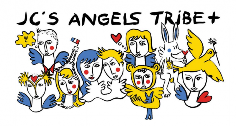 collection-de-stickart-jc-de-castelbajac-angels-tribe