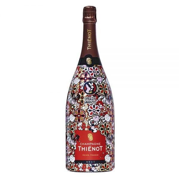 """""""Speedy Graphito"""" Magnum Thiénot Brut Champagne"""