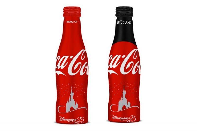 coca-cola-25-ans-disneyland-paris-bouteilles