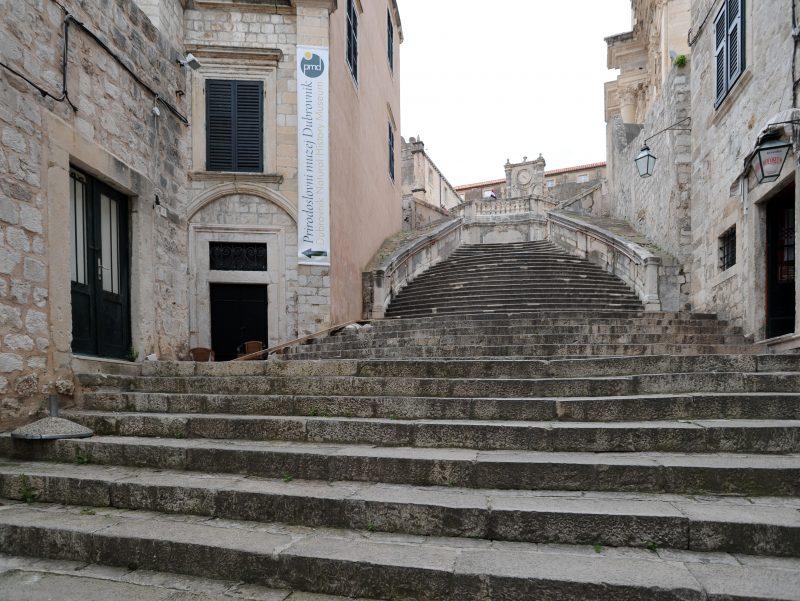 Église Saint Ignace de Dubrovnik, Scalinata des Jésuites