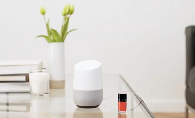 Sephora X Google Home