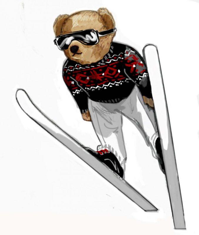 il-etait-une-fois-polo-bear 2-Ski-Jump-Bear