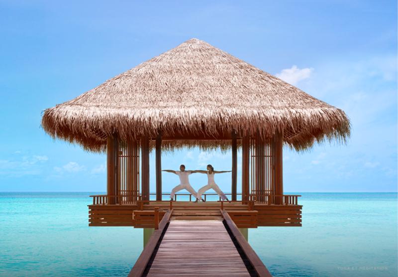vacances-aux-maldives-ile-privee-mer-fitness