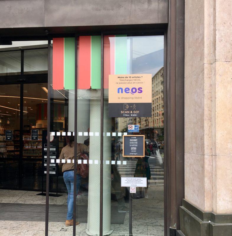 neos-faites-courses-sans-passer-caisse-shopping-libéré-etape-1